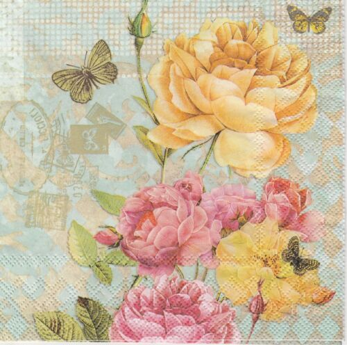 4x Paper Napkins Craft Victoria for Party Decoupage