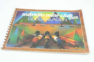 Track-Plans-Plan-Booklet-Marklin-Z-0290-Track-System-From-1976