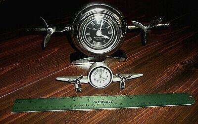 Art Deco 2 Flight Clocks Ebay