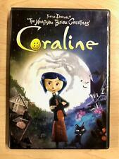 Coraline Dvd 2009 Includes 3 D Version For Sale Online Ebay
