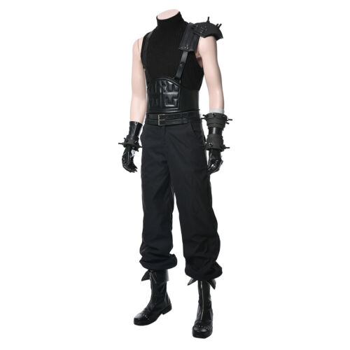 Final Fantasy VII 7 Remake Cloud Strife Cosplay Costume Armor Bracer Outfit