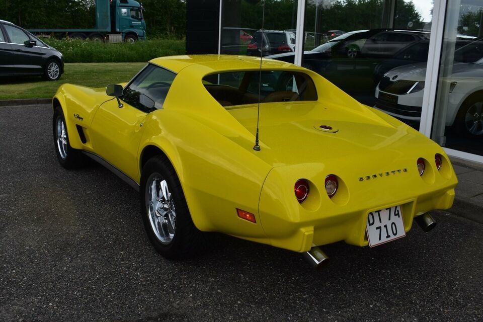 Chevrolet Corvette 5,7 V8 Stingray Benzin modelår 1975 km