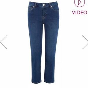1354967cef17 Image is loading OASIS-LUCIE-STRAIGHT-LEG-JEANS-Size-W12-L38-
