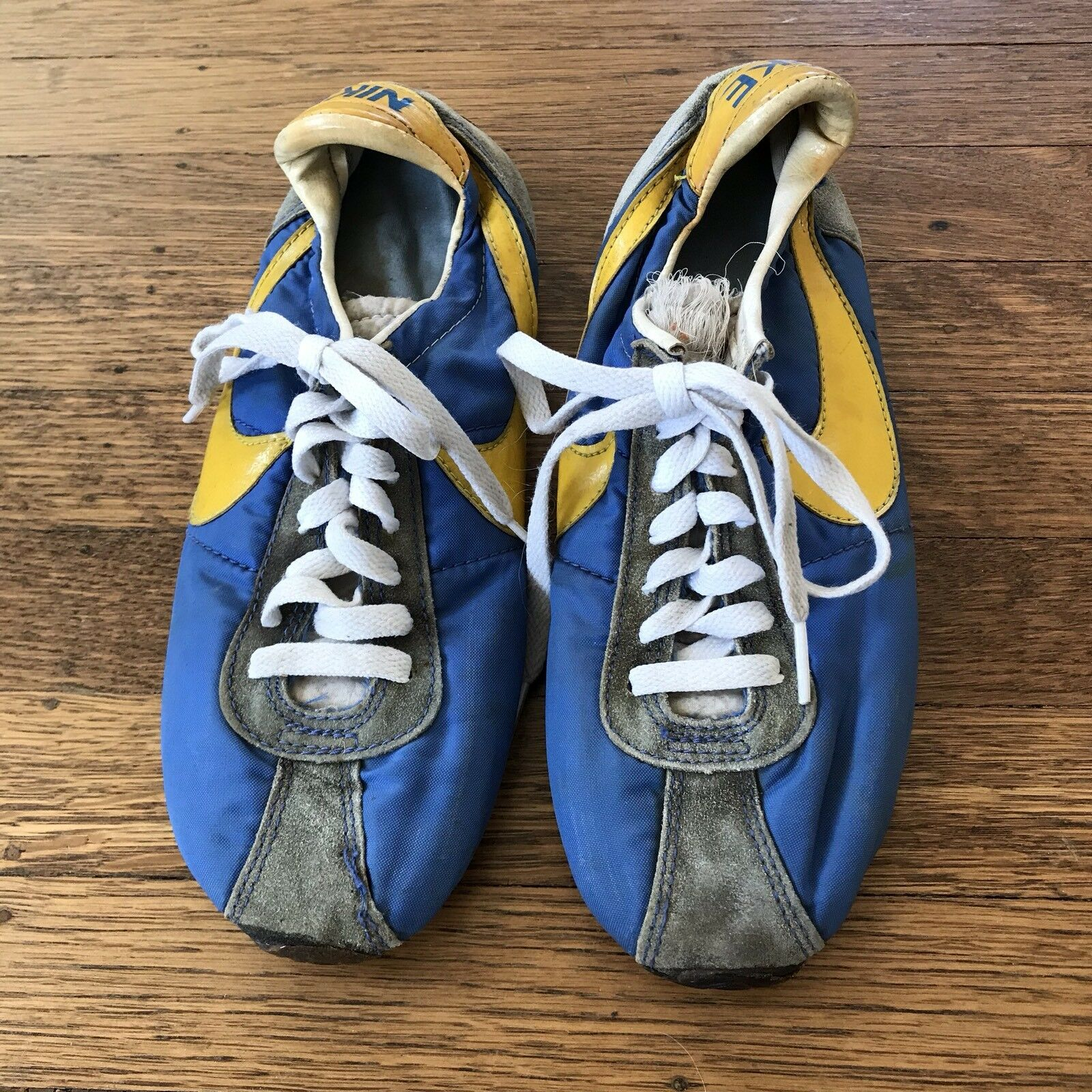 Nike Running Shoes Vintage Original Very Rare 1970's 80's Size 7 1/2 7.5