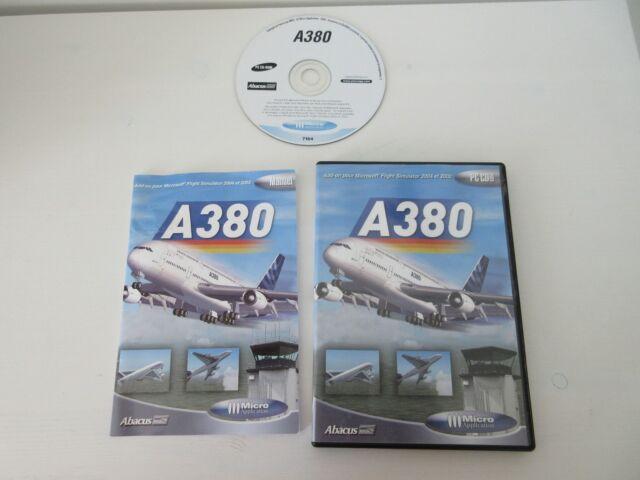 Jeu PC A380 Add-on extension pour Microsoft Flight Simulator 2002 / 2004