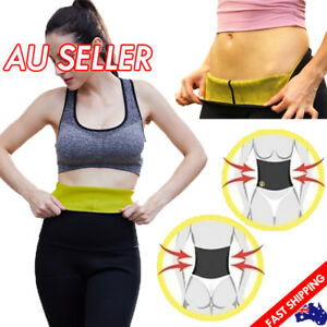 Women Body Shaper Slim Fit Waist Belt Trimmer Fat Burn Sweat Yoga Gym Vest Hot