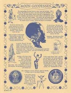 Moon-Goddess-Parchment-Page-for-Book-of-Shadows-Altar