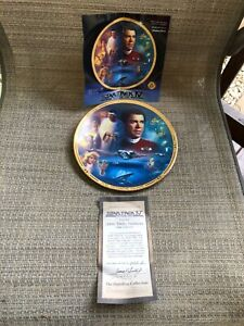 Star-Trek-Plate-The-Movies-Collection-Star-Trek-IV-The-Voyage-Home-with-COA