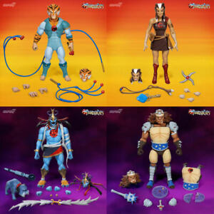 Thundercats-Ultimates-Wave-2-Set-of-4-Tygra-Mumm-Ra-Transformed-Pumyra-Grune