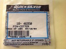 New Mercury Mercruiser Quicksilver Oem Part # 18-34212 Pin-Cotter