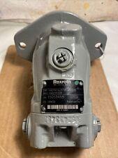 Rexroth Hydraulic Motor Aa2fm1661w Vsc530 Bidirectional Bent Axial Piston 16