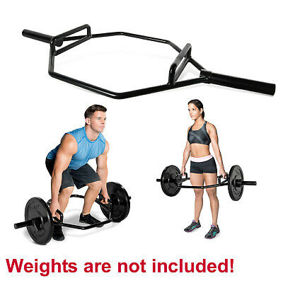 CAP Barbell Olympic 2-Inch High Hex Bar Deadlift Weight Lift Hex Dumbbell Gym
