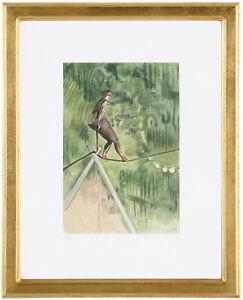 Fine-Toulouse-Lautrec-034-La-Danseuse-039-Hand-Numbered-15-20-Lithograph-Unframed-COA