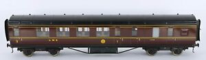 Exley O Gauge Lms 1st/3rd Class Brake Coach Basset Lowke Bogies Really Excellent Suppression De L'Obstruction