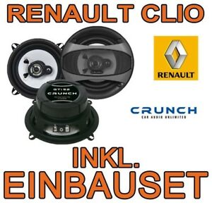 renault clio b 2 croquer 130mm triax haut parleurs aile. Black Bedroom Furniture Sets. Home Design Ideas