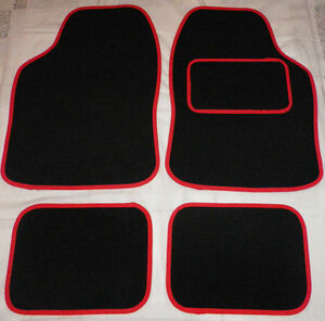 Car Mats Black And Red Trim Car Mats Mini Cooper S Clubman First One
