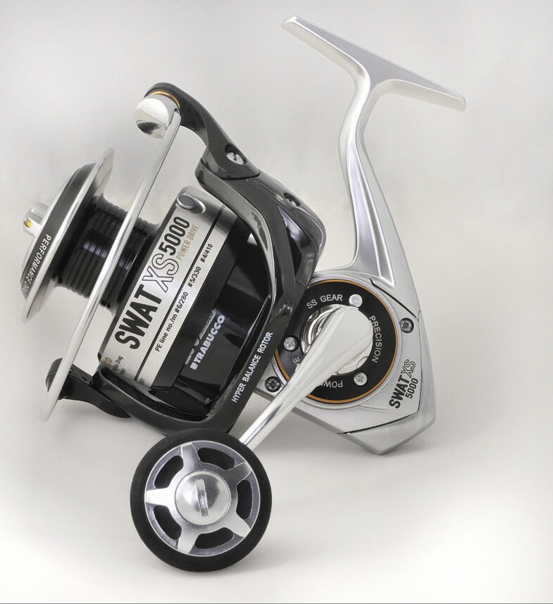 SWAT SWAT SWAT XS FIXED SPOOL BIG GAME REEL ,New 2014 from Trabucco of   5 Größes 03291f