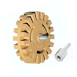 Sticker Remover Decal Eraser Wheel