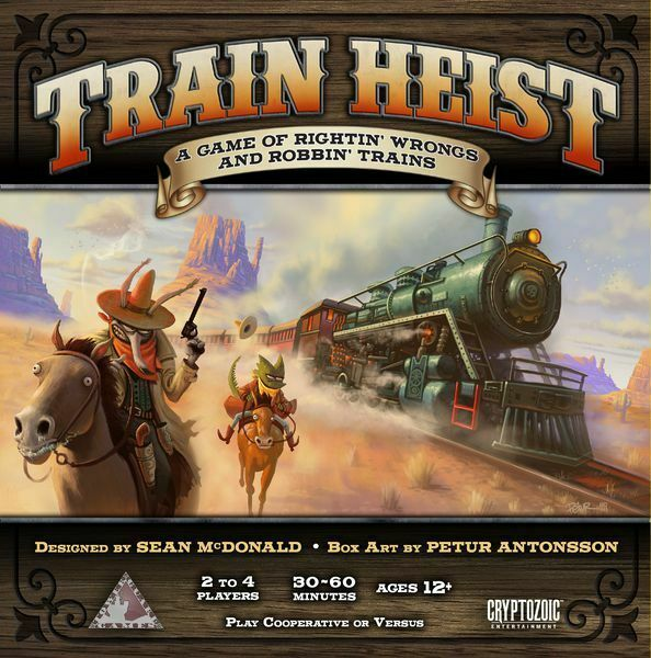 Train Heist Board Game By Cryptozoic Entertainment