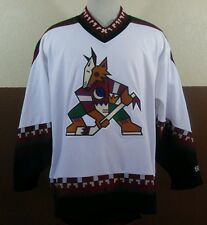RARE VTG NHL Arizona Phoenix Coyotes Tony Amonte Mens White Hockey Jersey CCM XL