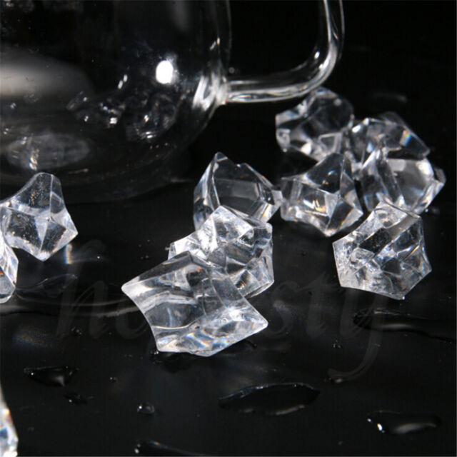 150pcs Acrylic Crystal Ice Rock Stones Aquarium Vase Gems Table