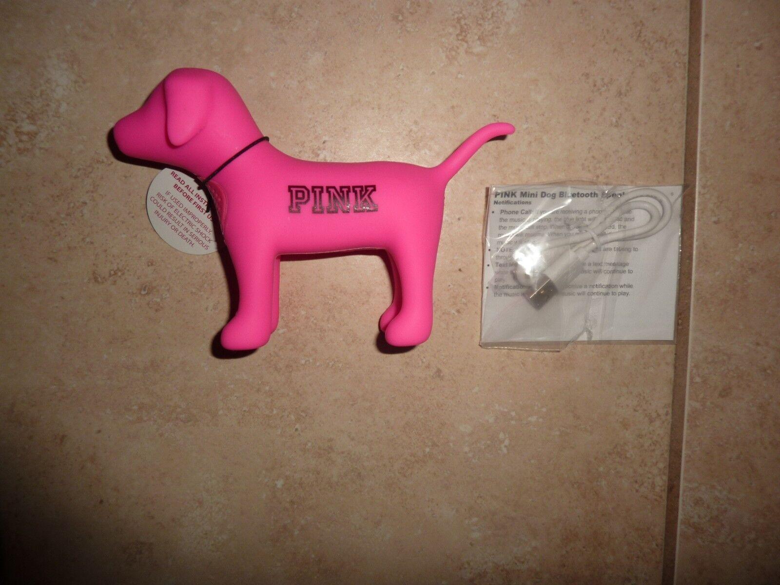 7ada06fab3 Victoria s Secret Pink Mini Dog Wireless Bluetooth Speaker for sale ...