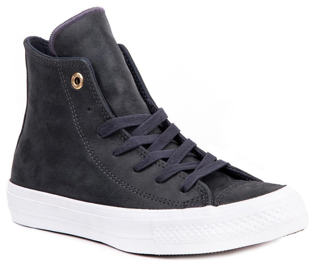 Konversa Chuck Taylor All Star II läder 555954C Sneeaker Sneeaker Sneeaker skor stövlar kvinnor ny  fabriks direktförsäljning
