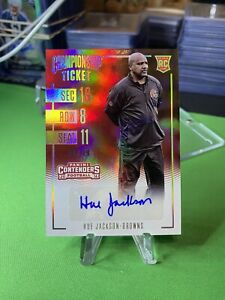 2016-Contenders-Championship-Ticket-HUE-JACKSON-ROOKIE-Browns-AUTO-49-RARE