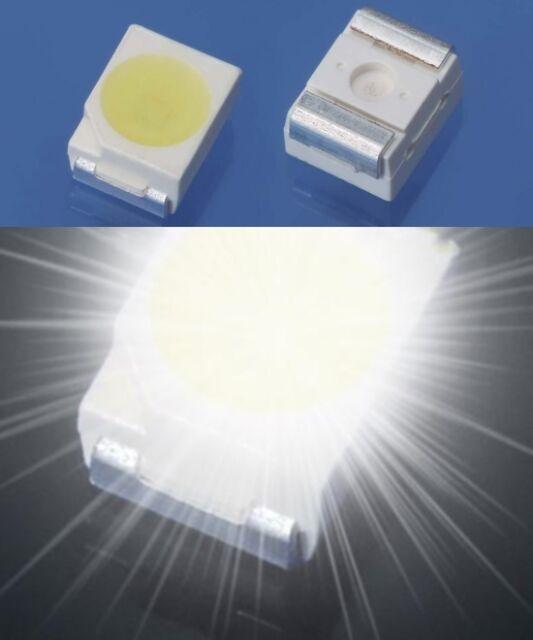 S752-50 Stück Miniatur Mini LEDs 1,8mm weiß diffus white