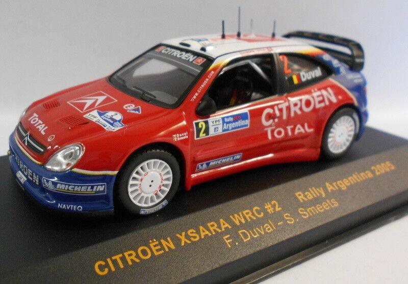 Ixo 1 43 Scale RAM200 CITREON XSARA WRC silverINA silverINA silverINA 2005 193a22