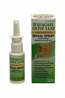 Seagate Products Homeopathic Olive Leaf Nasal Spray (pack Of 1)... Free Shipping