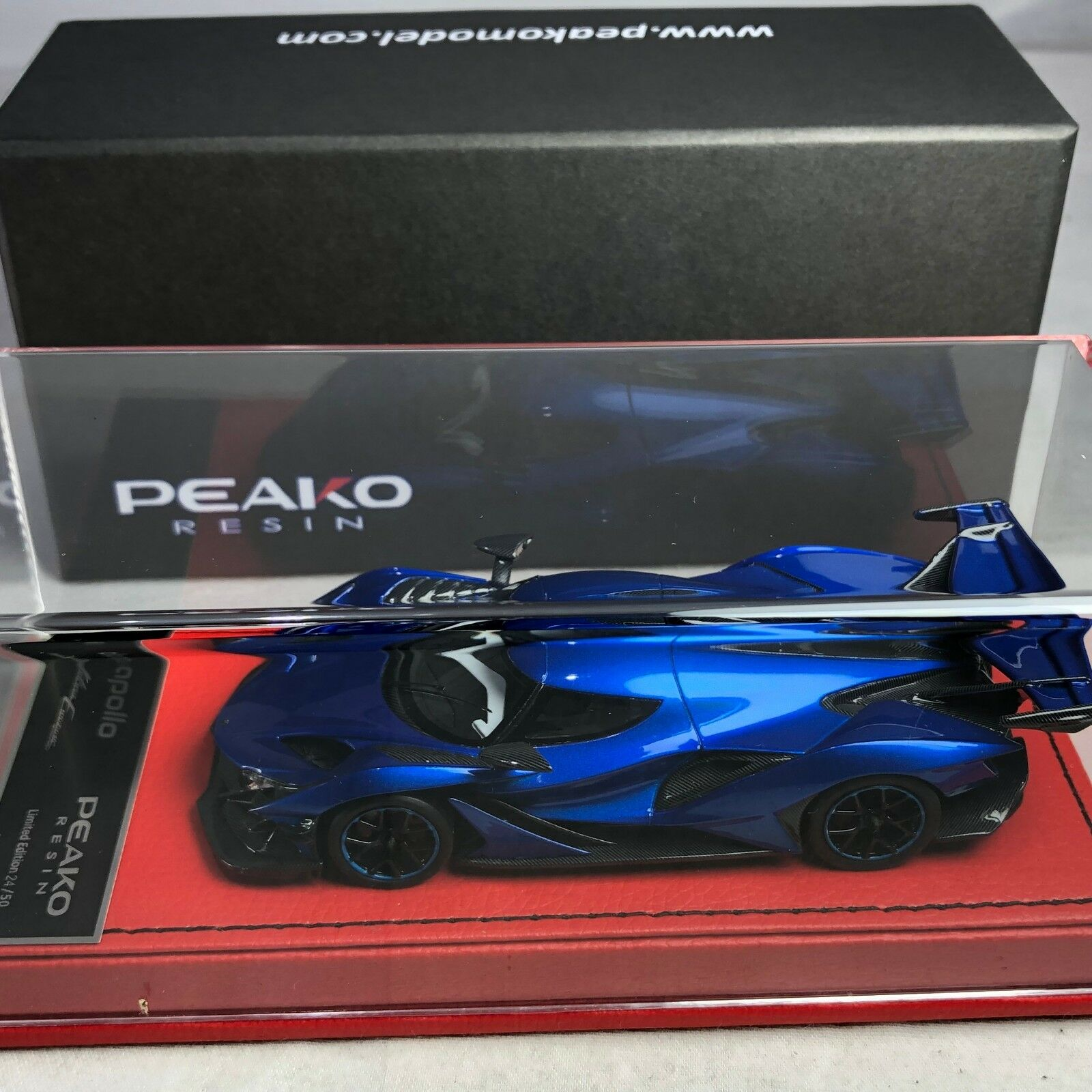 1 43 Scale Peako Model Apollo IE bleu Met Ltd  50 pcs  prix bas tous les jours