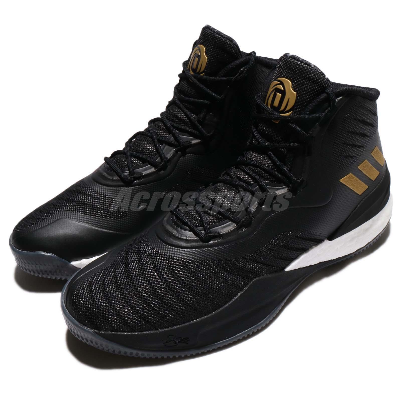 Adidas D oro Rose 8 VIII Derrick Rose oro D negro hombres Zapatos 9b87f2