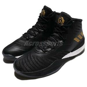 Image is loading adidas-D-Rose-8-VIII-Derrick-Rose-Black-