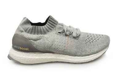 ab73681035f Mens Adidas UltraBOOST Uncaged - BB4489 - Grey White Orange Blue Trainers