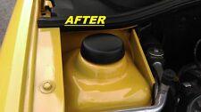 CLIO MK1, Williams, questo tipo di lesioni 16 V,1.2,1.4,1.6,1.8, Textured BLACK Strut TOP covers-set