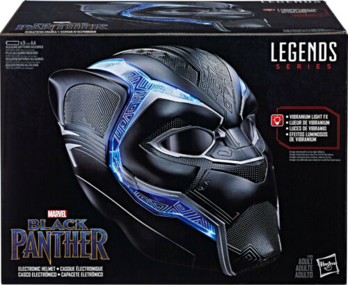 Marvel Legends Black Panther Electronic Helmet Authentic Hasbro