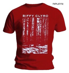 Official-T-Shirt-BIFFY-CLYRO-Ellipsis-039-Red-Trees-039-All-Sizes
