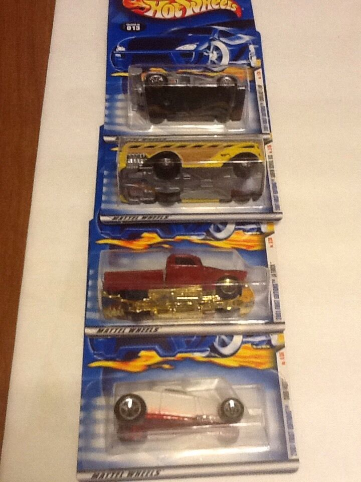 2001 Hot Wheels First Editions 1-36 Cars W  Some Variations 40 Cars Total
