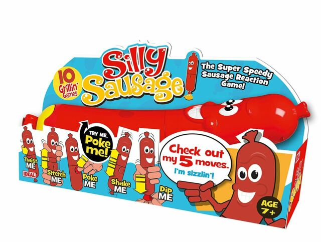 John Adams Silly Sausage Game Family Kids Party Board Game KIDS TOY XMAS GIFT