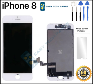 WHITE-iPhone-8-Assembly-OEM-LCD-Digitizer-3D-Touch-Screen-Replacement-A1863-4-7
