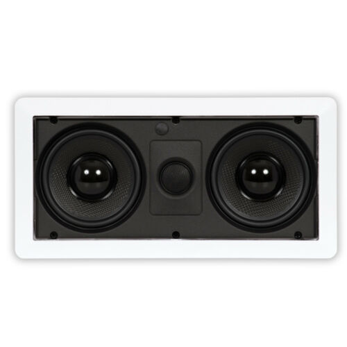 Theater Solutions LCR525 In Wall Speaker Home Theater Compact Center Channel