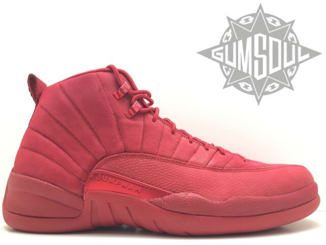 86801b13 2018 Nike Air Jordan 12 XII Retro Gym Red Size 16. 130690-601 for ...