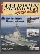 MARINES & Forces Navales N°92 LES BDC EDIC CTM/ ALVARO DE BAZAN /FIN DES U-BOOTE