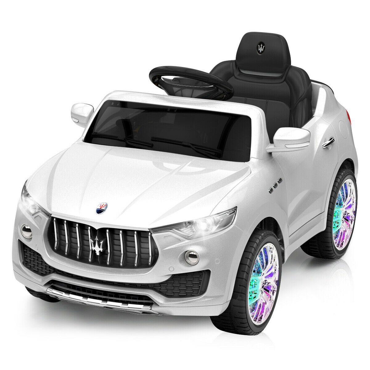 6V Licensed Maserati Kids Ride On Car RC Remote Control Opening Doors Christmas