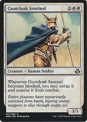 Uncommon - Elspeth vs Kiora 4 x Gustcloak Sentinel 012//067
