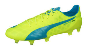 Details about Puma evoSPEED SL FG Mens Soccer Cleats Grass Lightweight  Football Shoes Yellow