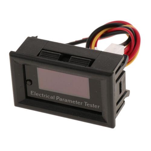 1 Pcs Battery Capacity Ammeter LED Digital Voltage Current Measurement Meter