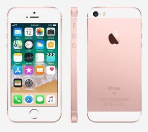 Apple Iphone Se 64gb Rose Gold Unlocked Rare Ios 10 10 3 3 Good B Ebay