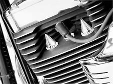Harley-Davidson FXDWG2 CVO Dyna 2001Stiletto Head Bolt Covers Chrome by Kuryakyn